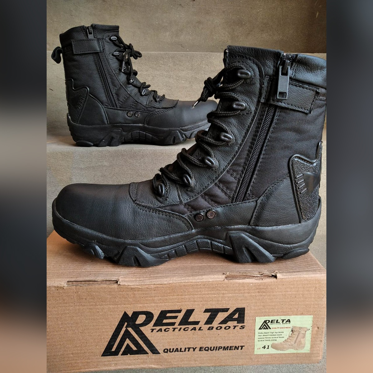 New 2020 Long Army Ankle Boot for Men