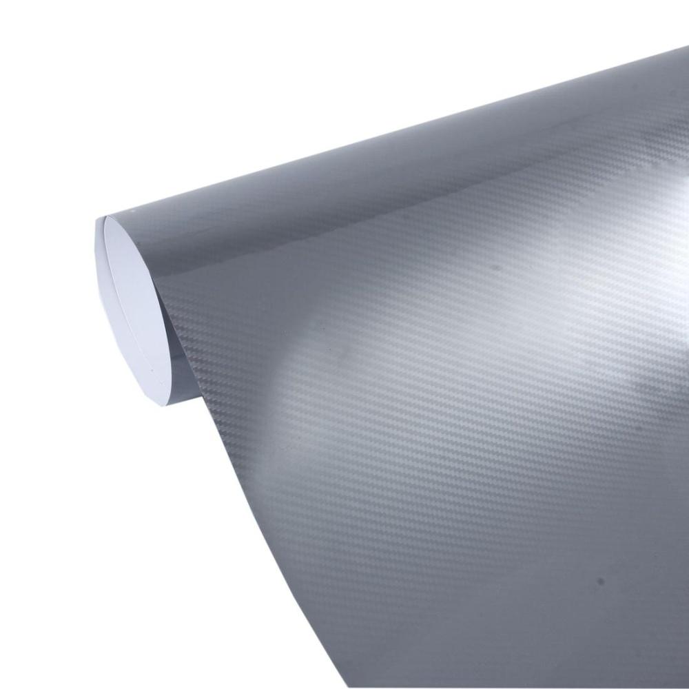 5D High Gloss Carbon Fiber Car Vinyl Wrap Sticker Decal Film Sheet Air Release, Size: 152cm x 50cm(Black): Buy Online at Best Prices in Pakistan | Daraz.pk