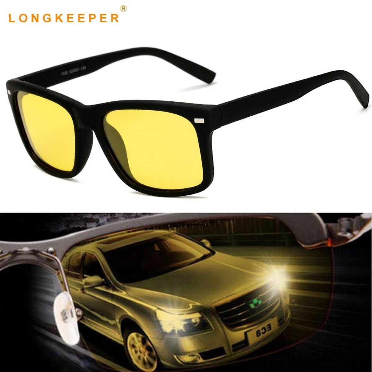 Trendy New Design Yellow Sunglasses- Metal Frame For Unisex