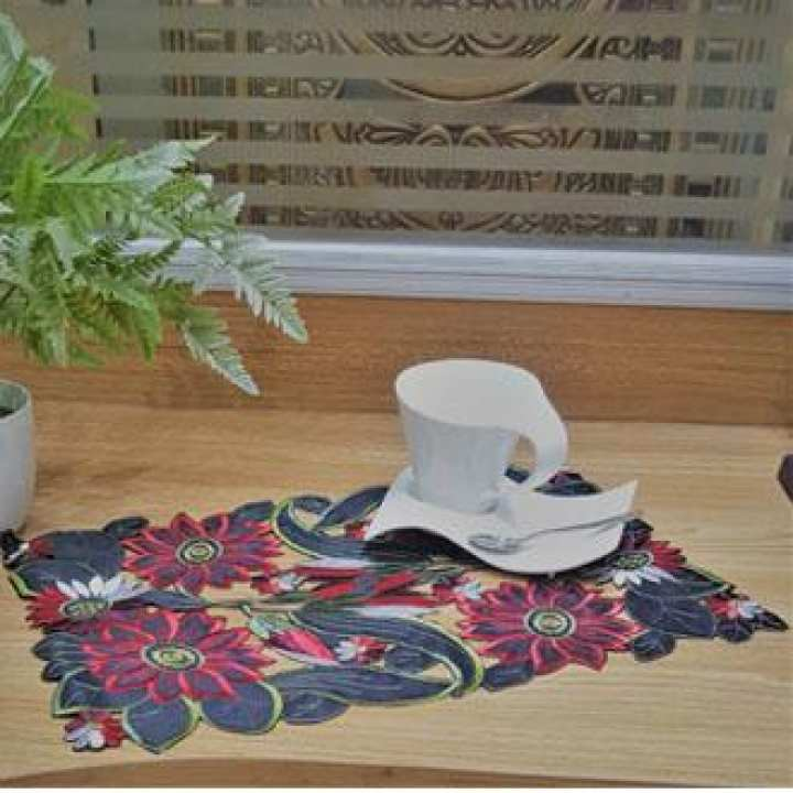 CH Modern Embroidery Table Mate 3 Pcs Set
