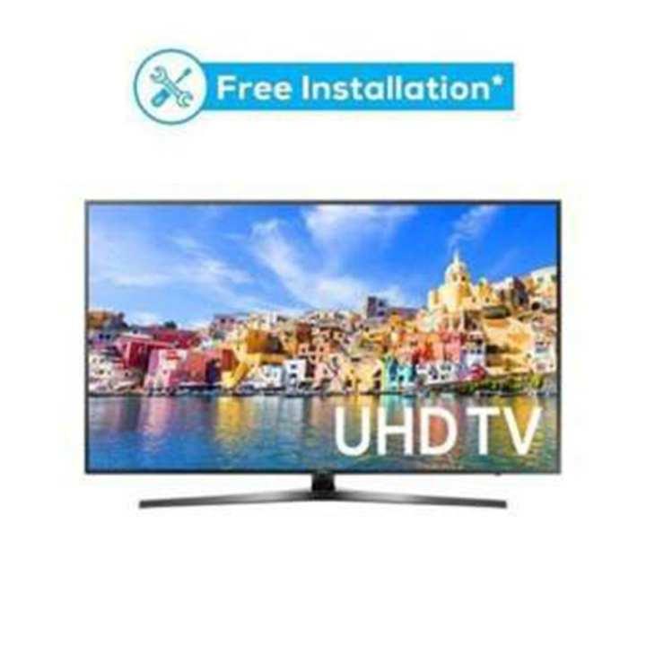 "MU7350 - 49"" Curved 4K UHD Smart LED TV - Black"