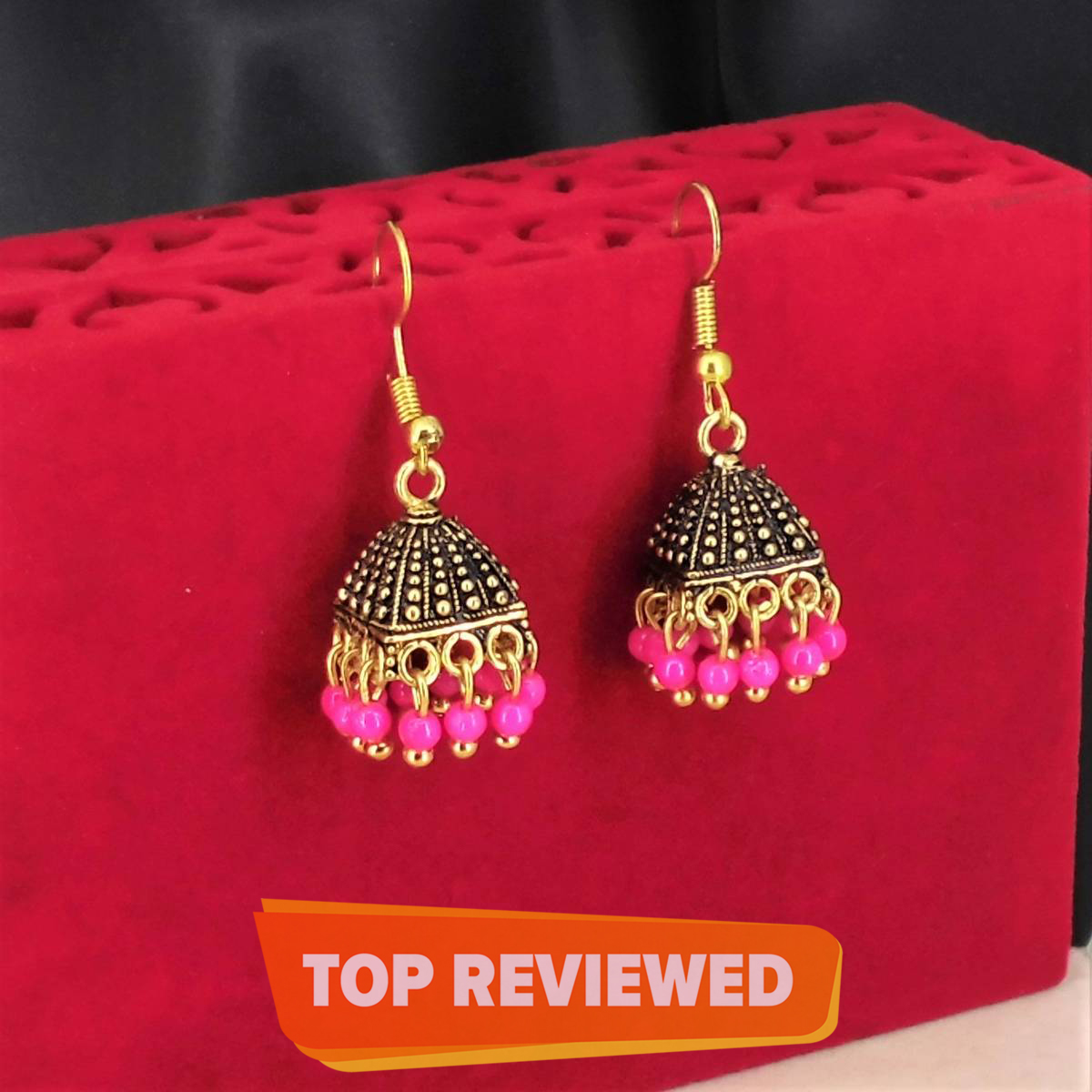 Fashionable stylish design small jewelry earrings  in 6 colours
