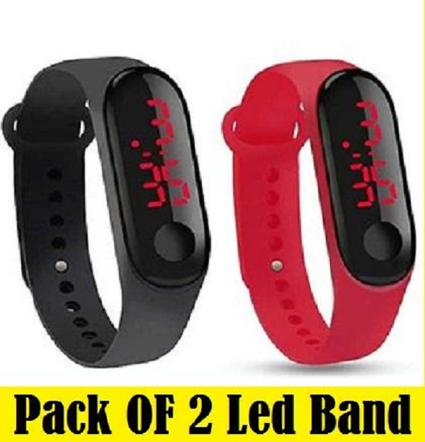 Pack Of 2 - New 2020 Digital led Band Watch