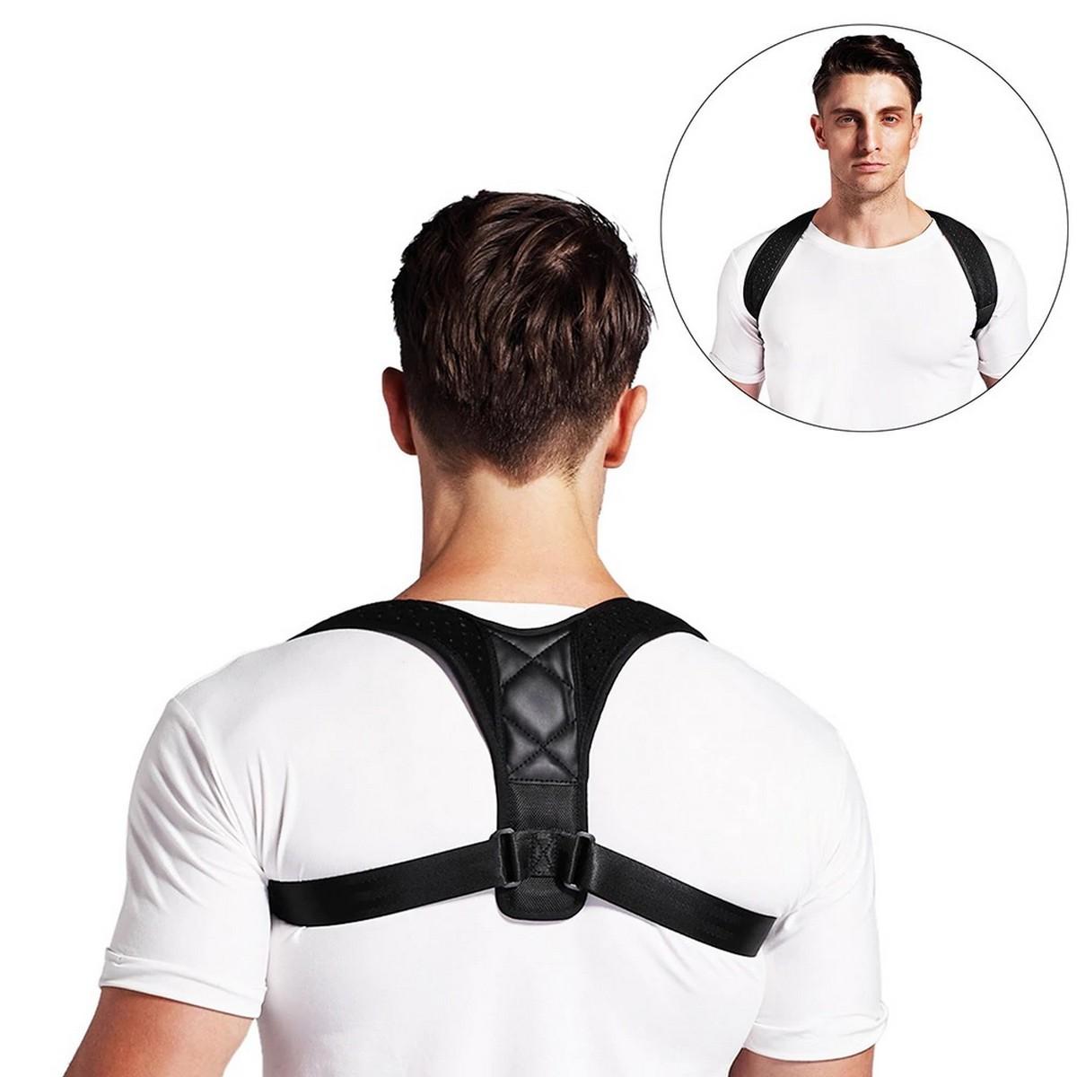 Top quality adjustable back shoulder support belt new posture corrector belt for men and women