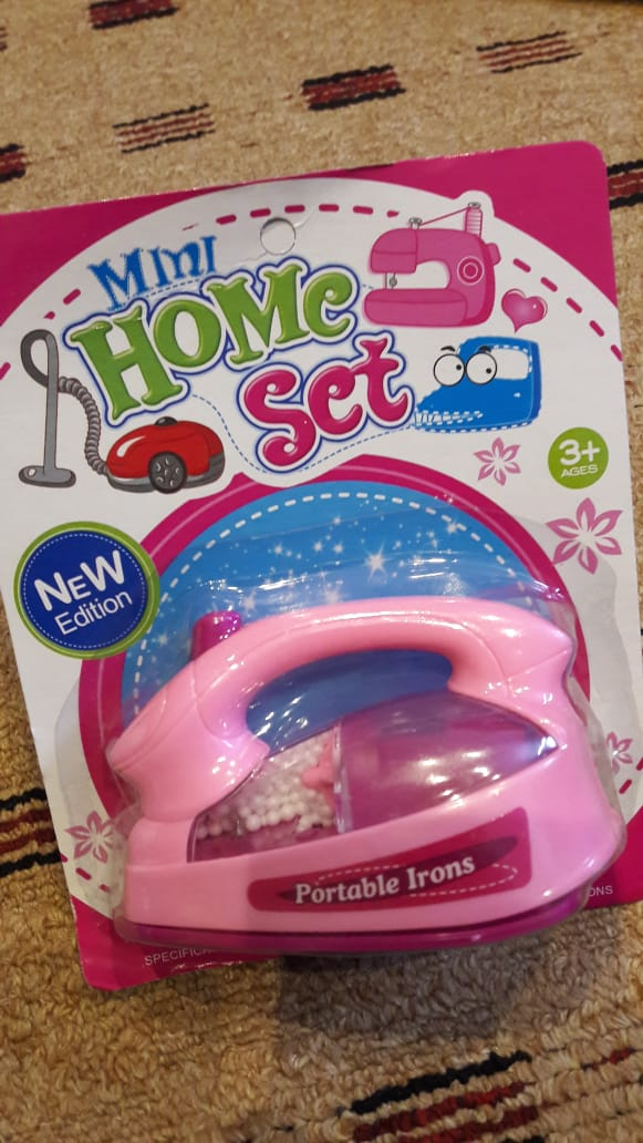 Kids Battery Operated IRON Toy (High Quality)