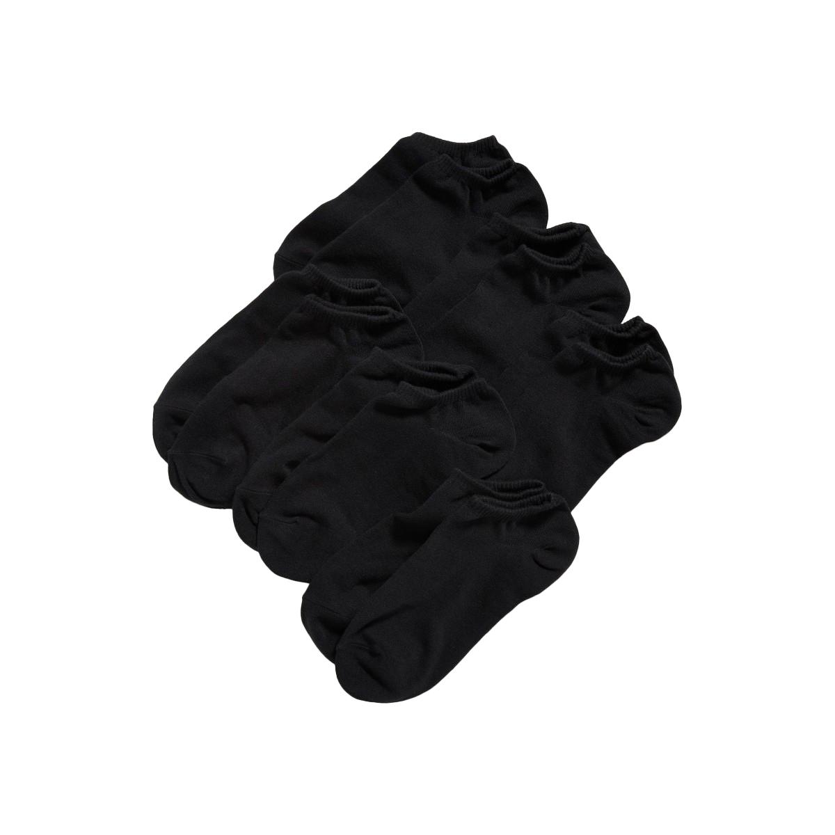 Code 6 Pairs Cotton Ankle Socks For Men Women  Cotton Ankle Socks For Men  No Show Low Cut Socks For Men  Business Casual Socks For Men - Black