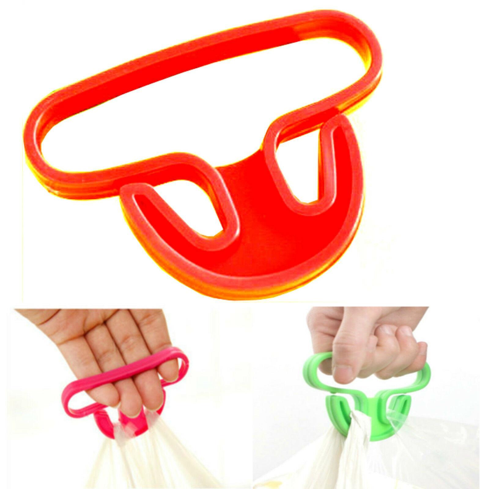 Multi Shopping Bag Carrier Easy Lifter Holder Plastic Grip Bag Handle