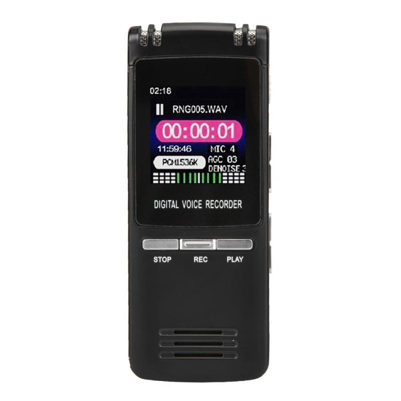 Voice Recorder Long Distance Audio Recording Dictaphone Function Lossless  Player