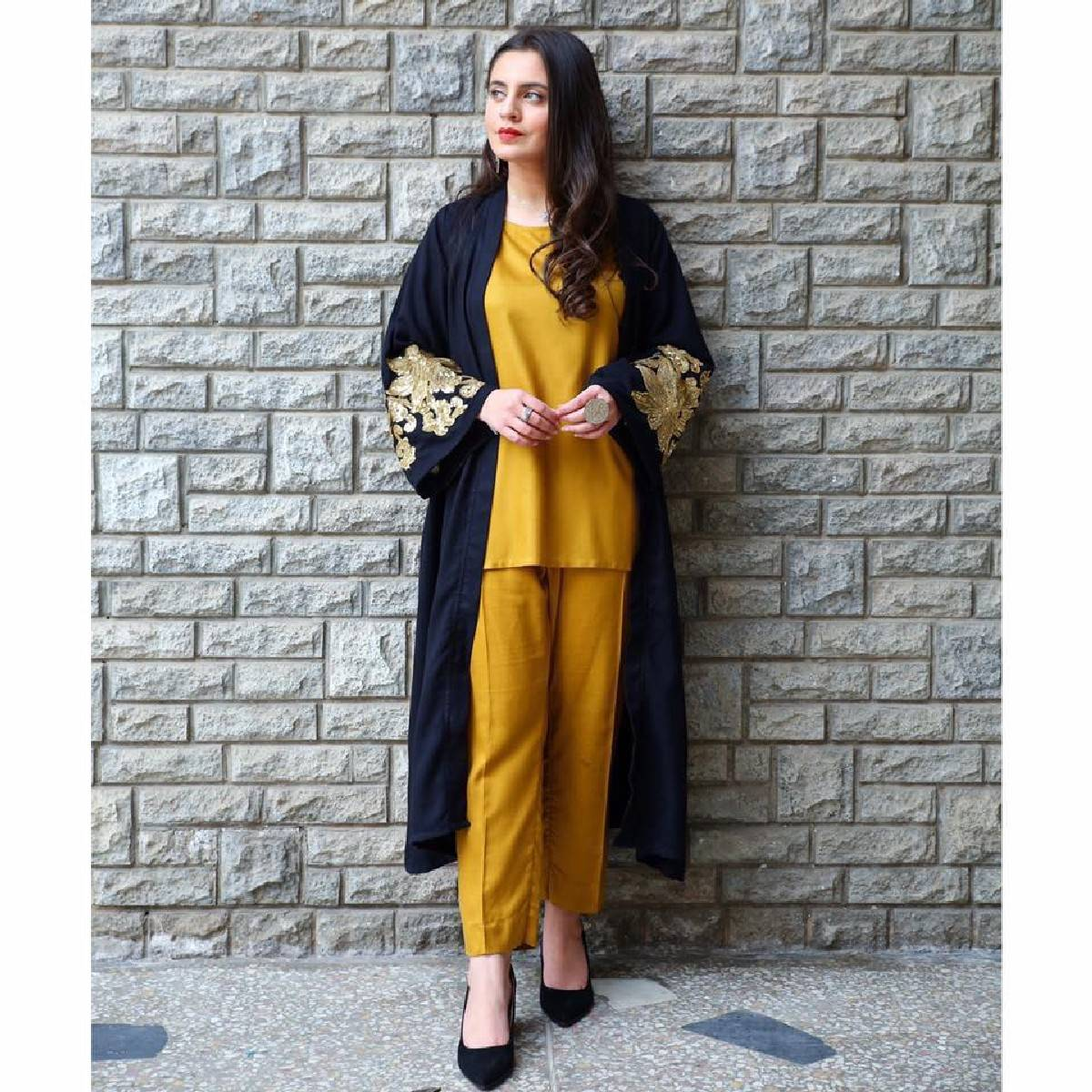 Kishmish Stiched Chapter 3, Royal 3 Pcs ( Gown+Shirt+Trouser) Embroidered Dress For Women by Festive Collection