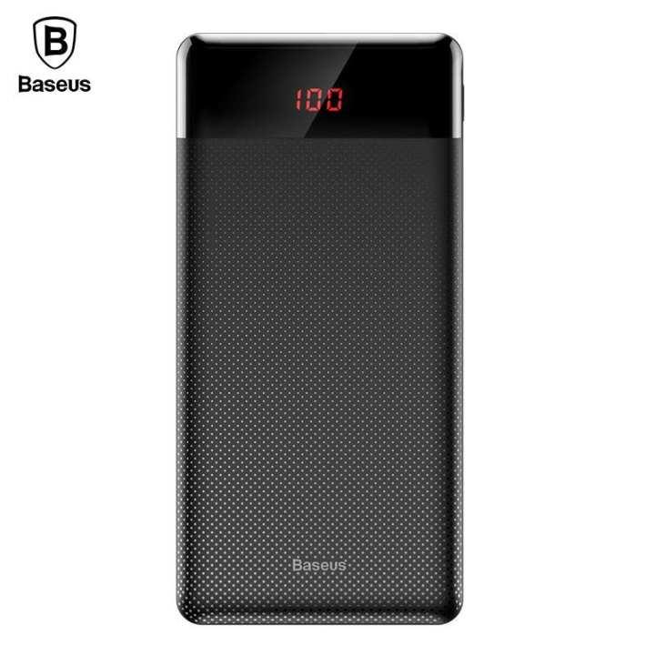 Baseus Mini Cu Diital Display Power Bank 10000mAh Black