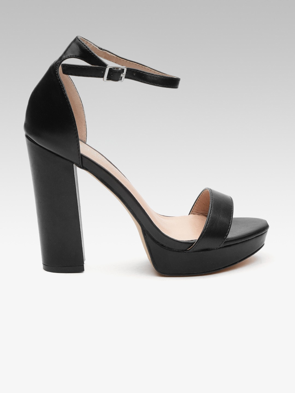High Heel Sandal For Women Fashion Black