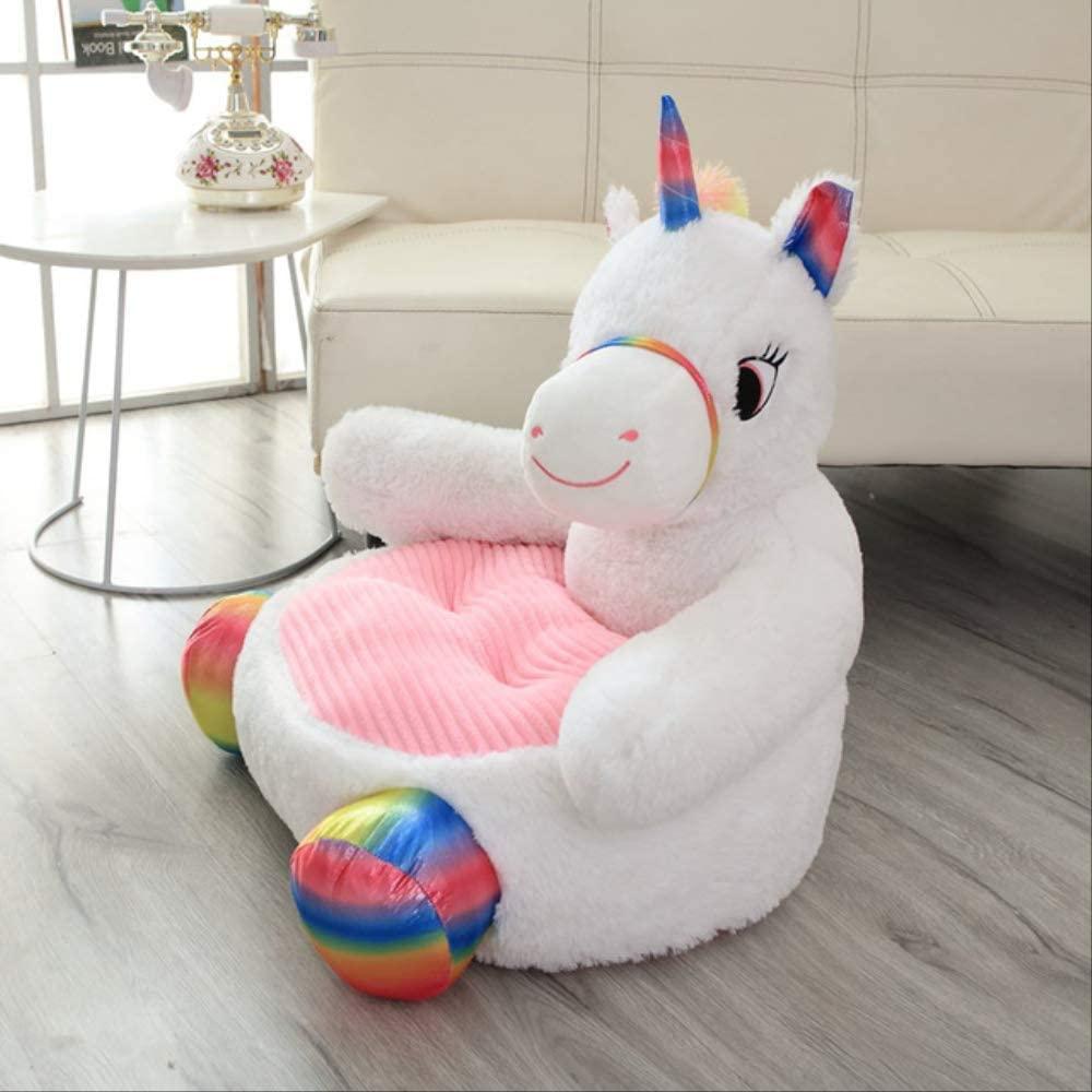 Unicorn Baby Floor Seat 50cm Stuffed Baby Sofa Plush Soft Dolls for Kids Birthday Gift