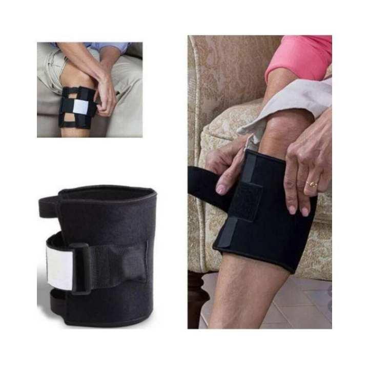 Be active Knee brace Pressure Point Brace Back Pain Relief belt - Black