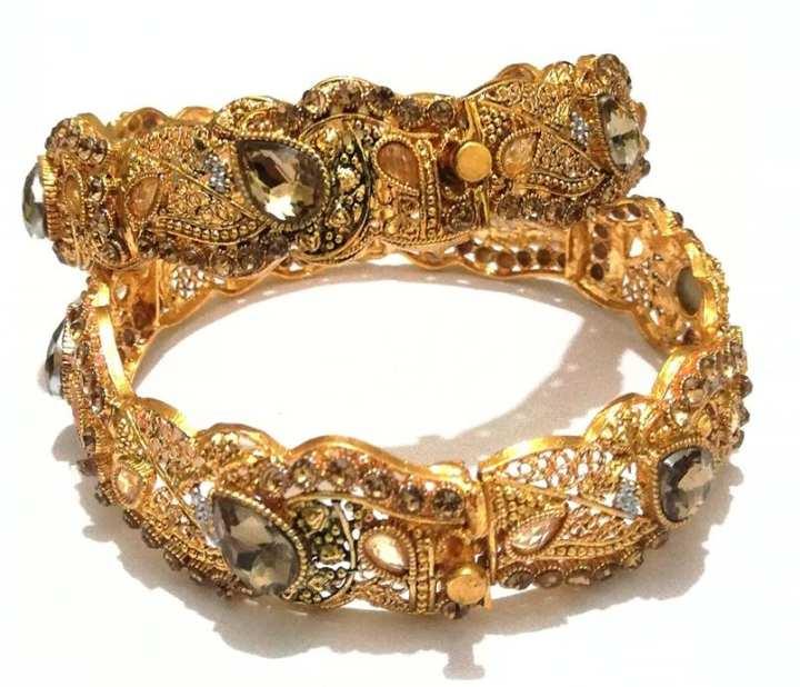 Bangles In Golden