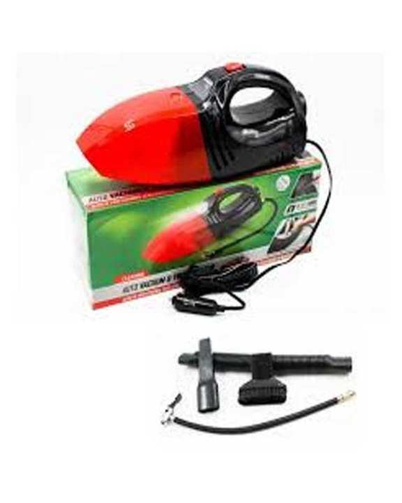 Auto Vaccume & Tire Inflator Red