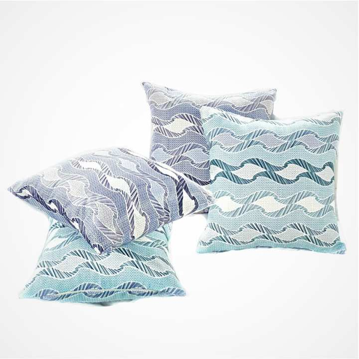 CH Modern Sea Lines Cushion With Out Filling Cover
