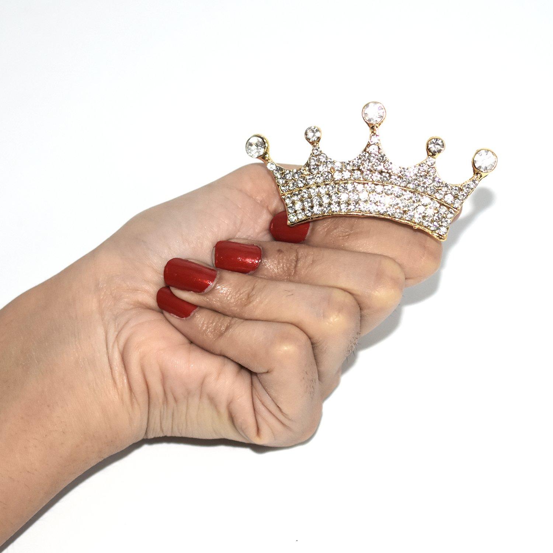 New Style Golden Crown Princess Party Pearl Rhinestone Tiaras Wedding Hair Accessories Bridal Headdress Head Jewelry Accessories