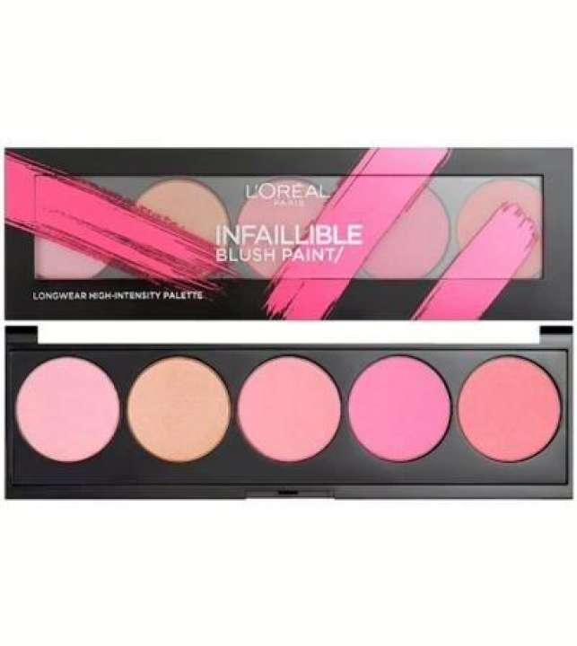 L'Oreal Paris Inflation blush paints 01 pink