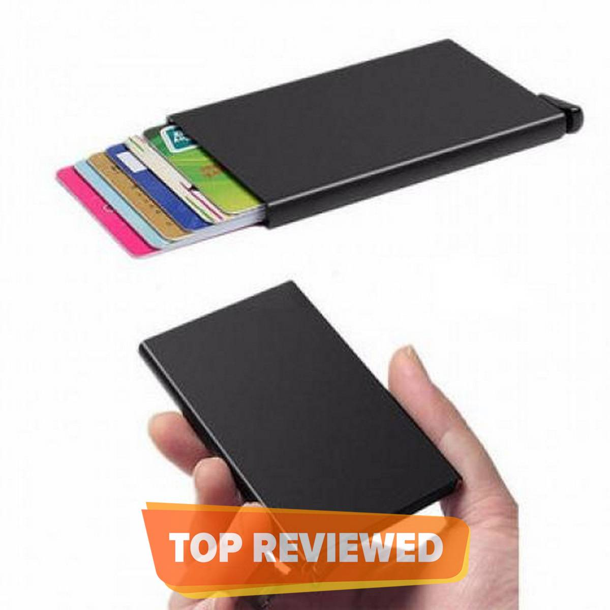 Metal Slim Card Holder Wallet - Smart, Stylish With Good Quality
