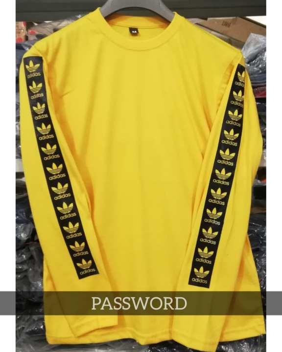 Women's Yellow Sleeve Printed T-shirt.