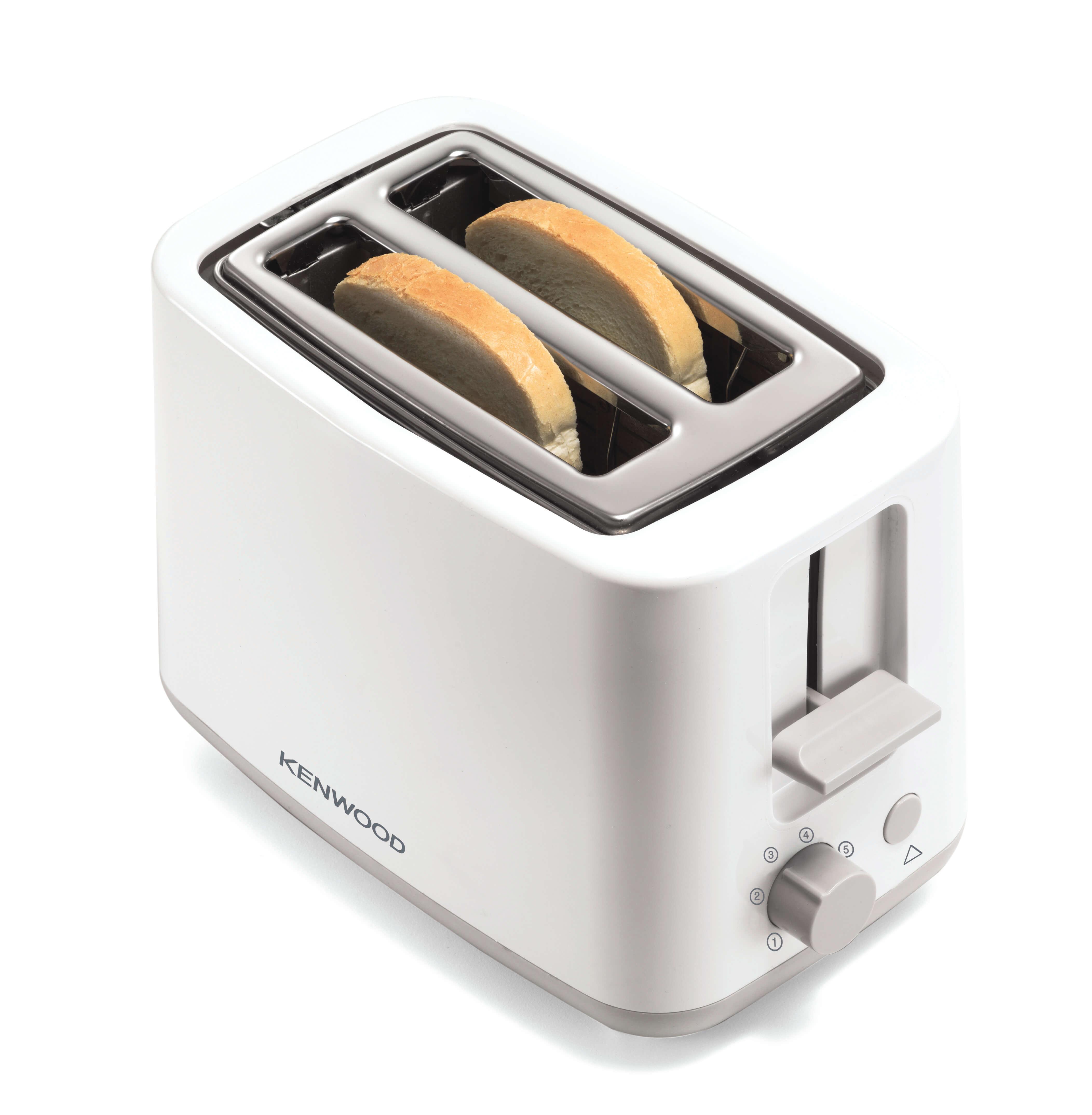 Kenwood Two Slice Toaster Scene Tcp-01 900w 02 Slice Capacity Wih Defrost Setting & Cancel Function Health Range