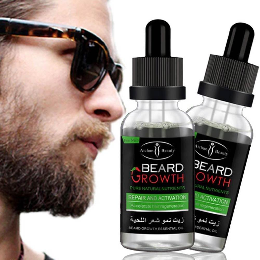 Beard Oil for Men, Conditions and Promotes Growth for Soft and Itch Free Facial Hair - 40ml