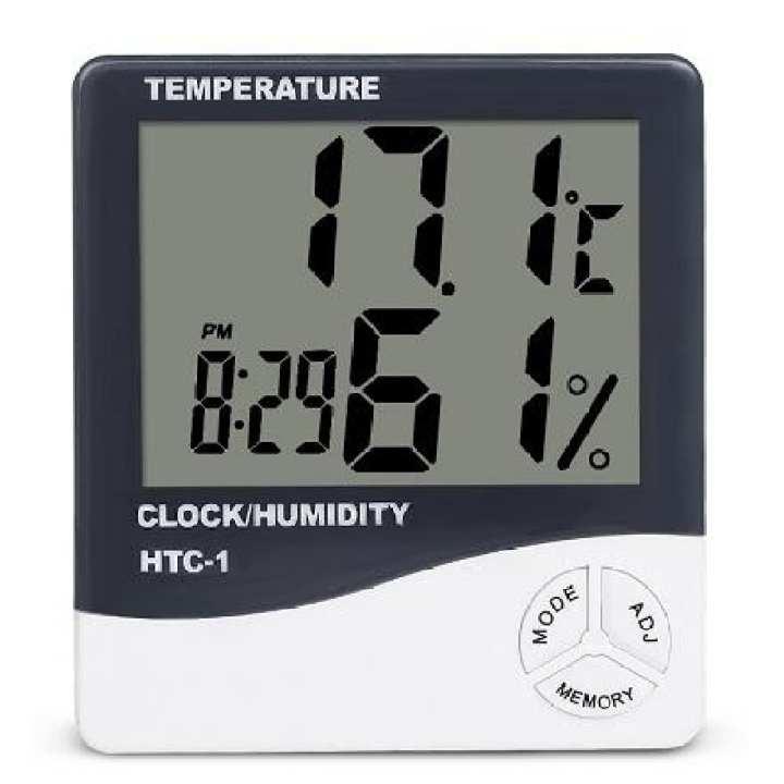 Digital Indoor Temperature and Humidity Meter HTC-1 - Hygrometer