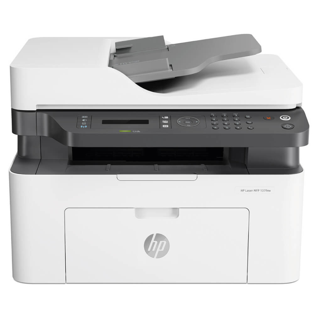 HP LaserJet Multi Function Printer M137fnw ( Print Scan - Copy ...