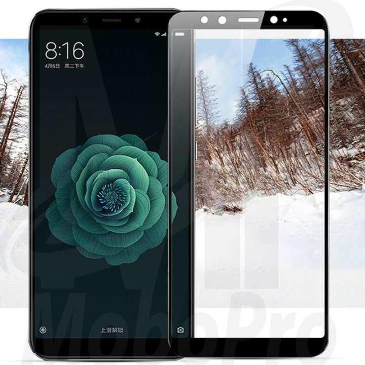 Xiaomi Mi A2 Full Coverage Glass Protector Black