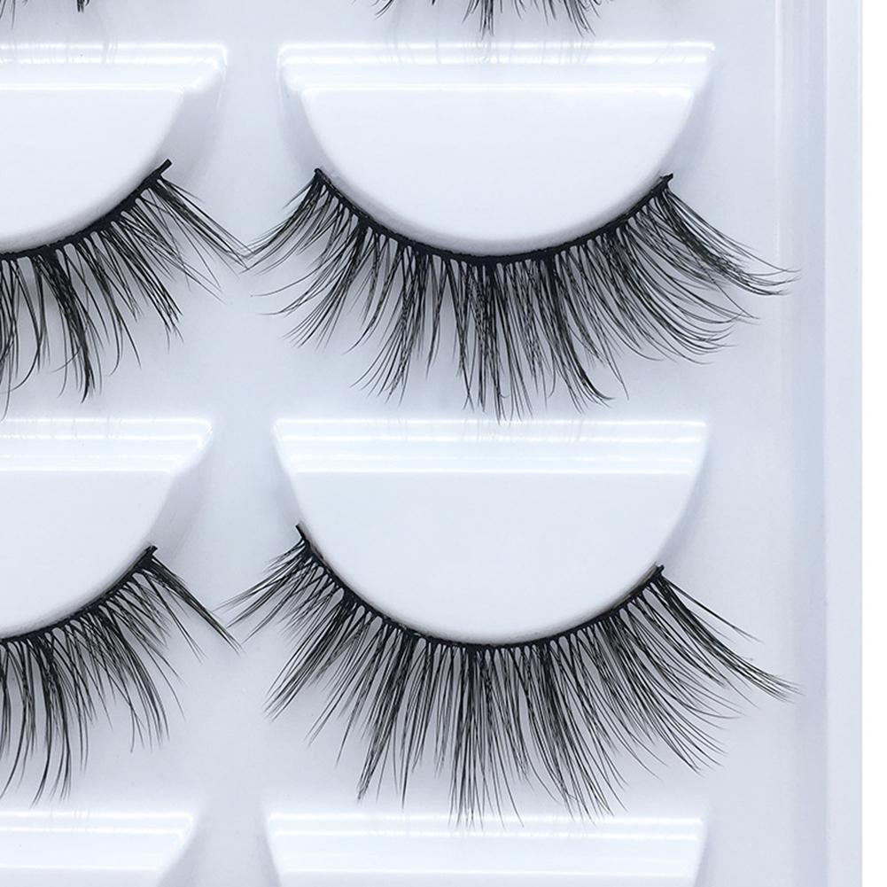 68b3959a275 Please allow 1-3mm measuring deviation due to manual measurement. Included:  5 Pairs X False Eyelashes