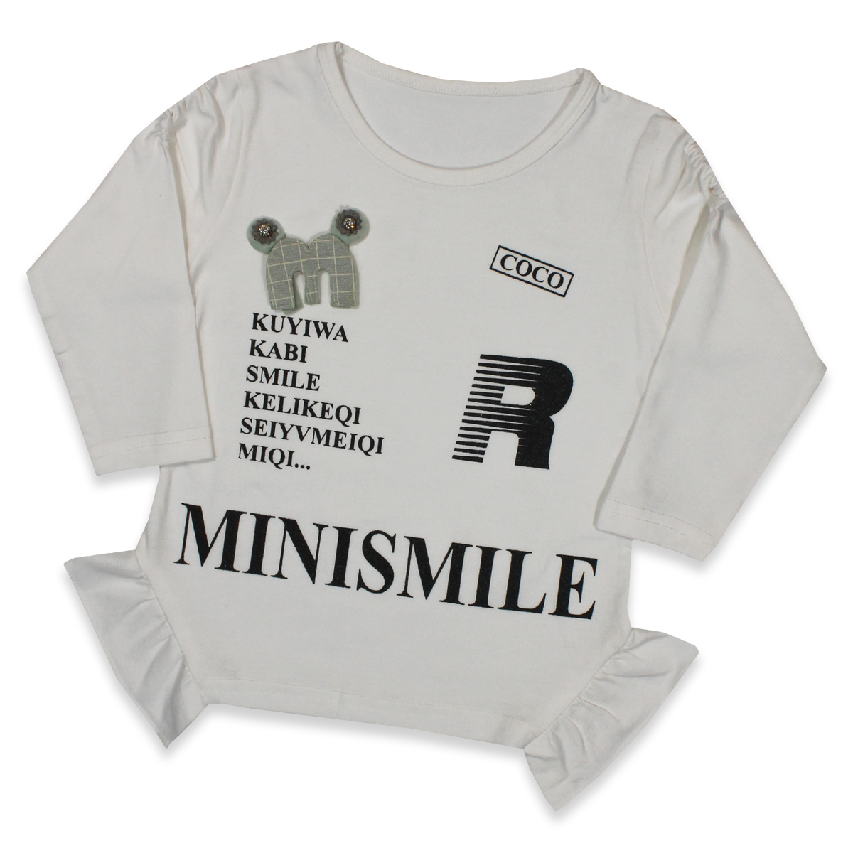 Cut Price 2.5yrs - 7yrs T-shirt For Girls M-smile
