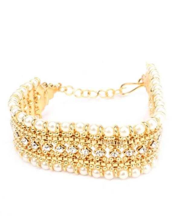 Golden Stylish Bracelet for her