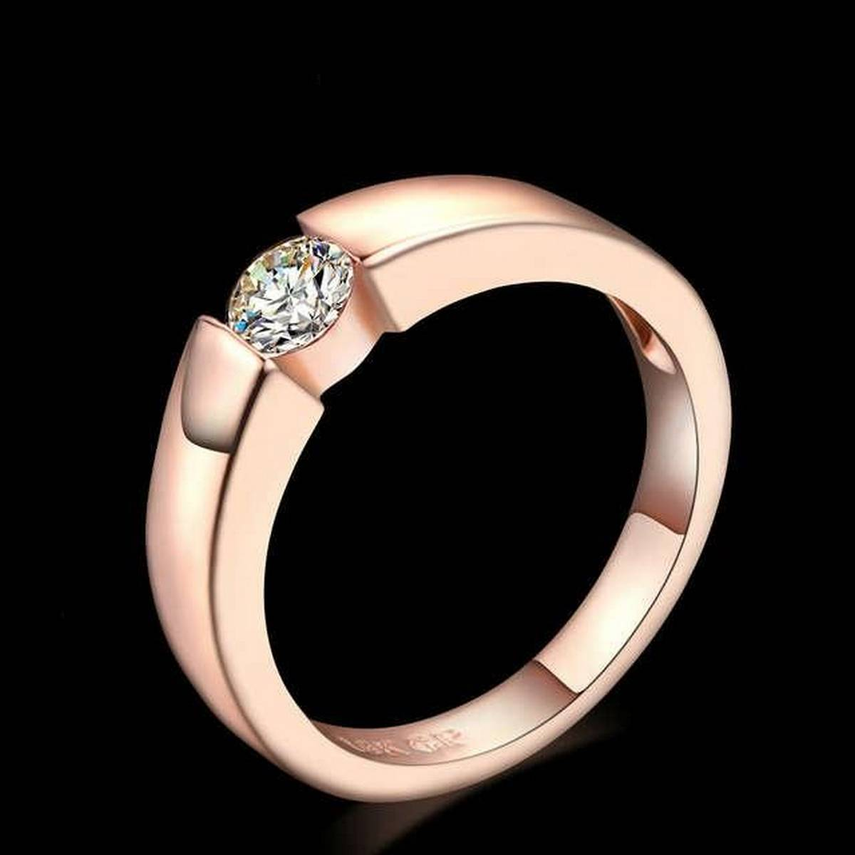 World Wide Princess Cut Stone Engagement/Wedding Rings For Women