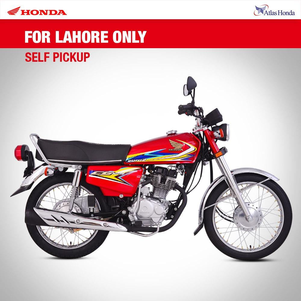 Honda - CG125 - (Red Colour) For Lahore only