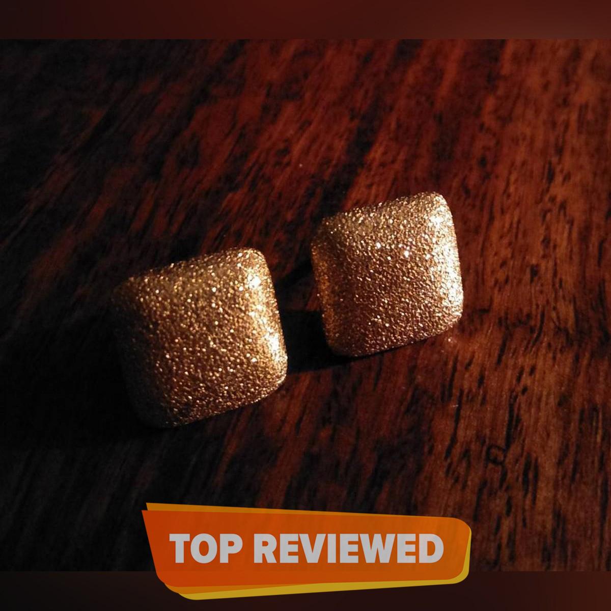 Elegant Jewellery Golden Stud Earrings For Women