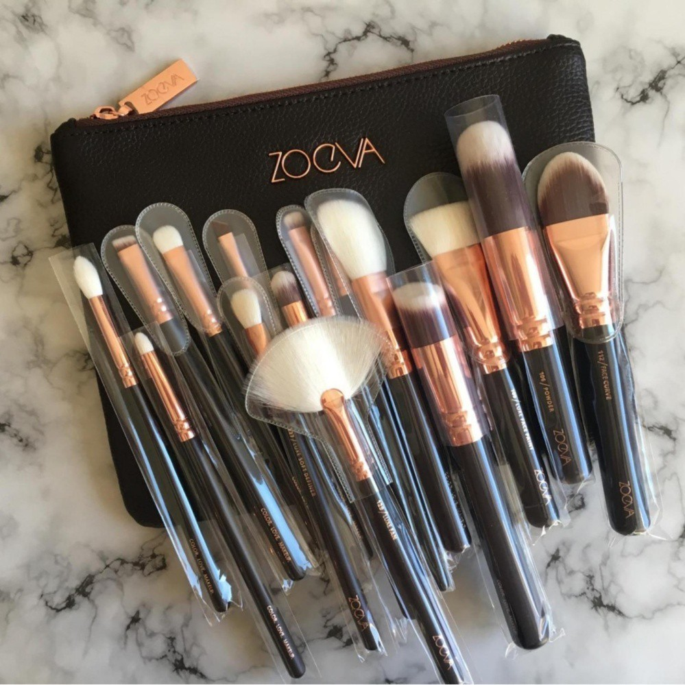 Zoeva 15 Pieces Makeup Brushes With