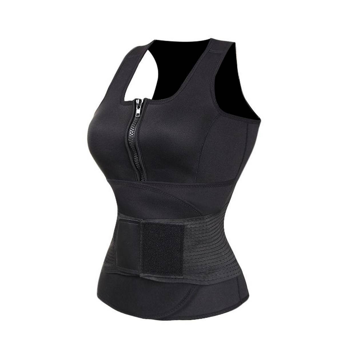 Waist Trimmer. Belly Fat Cellulite Burner With Anti-Bacterial Coating, Body Shaper Exercise Belt,
