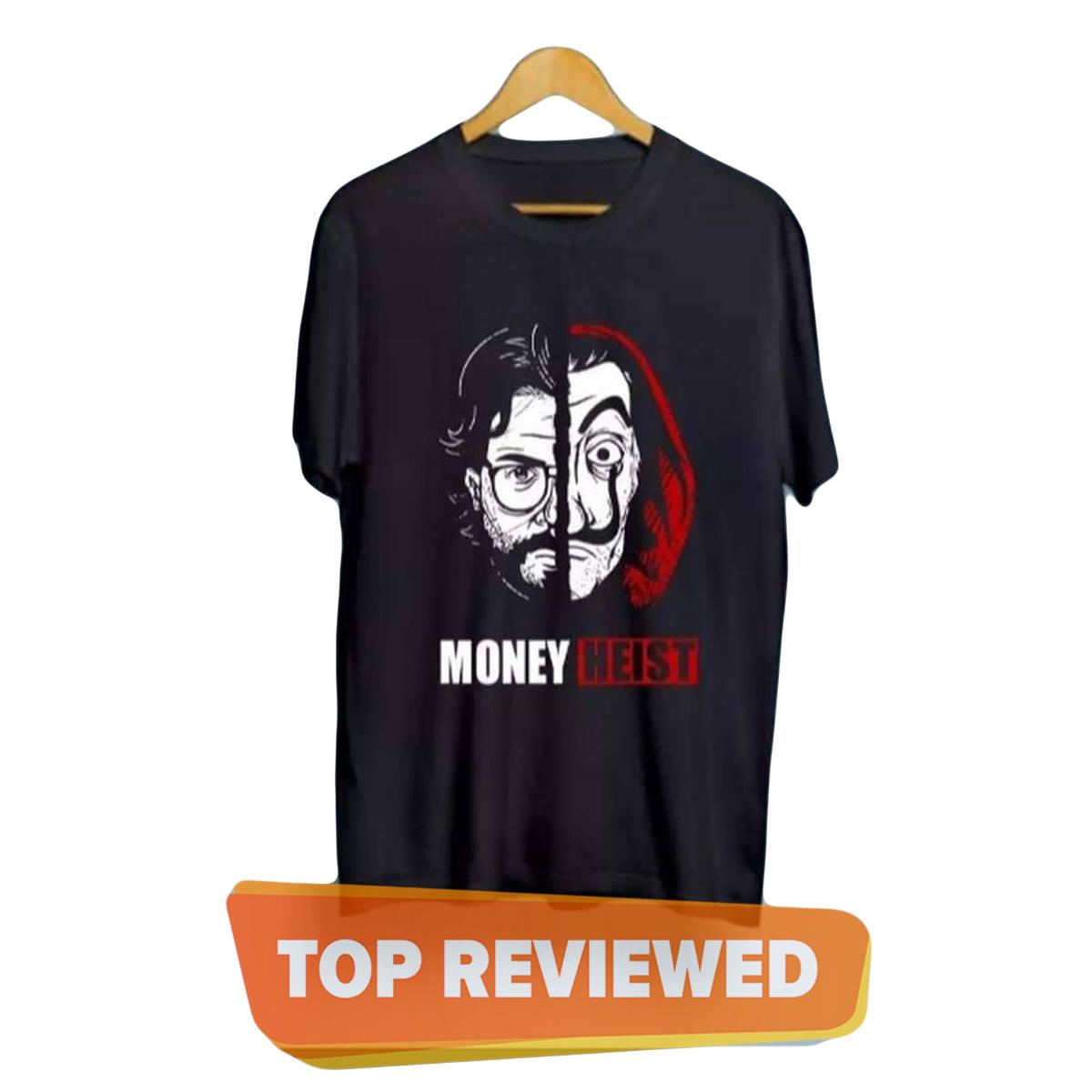 New trendy  Money Heist printed Tshirt