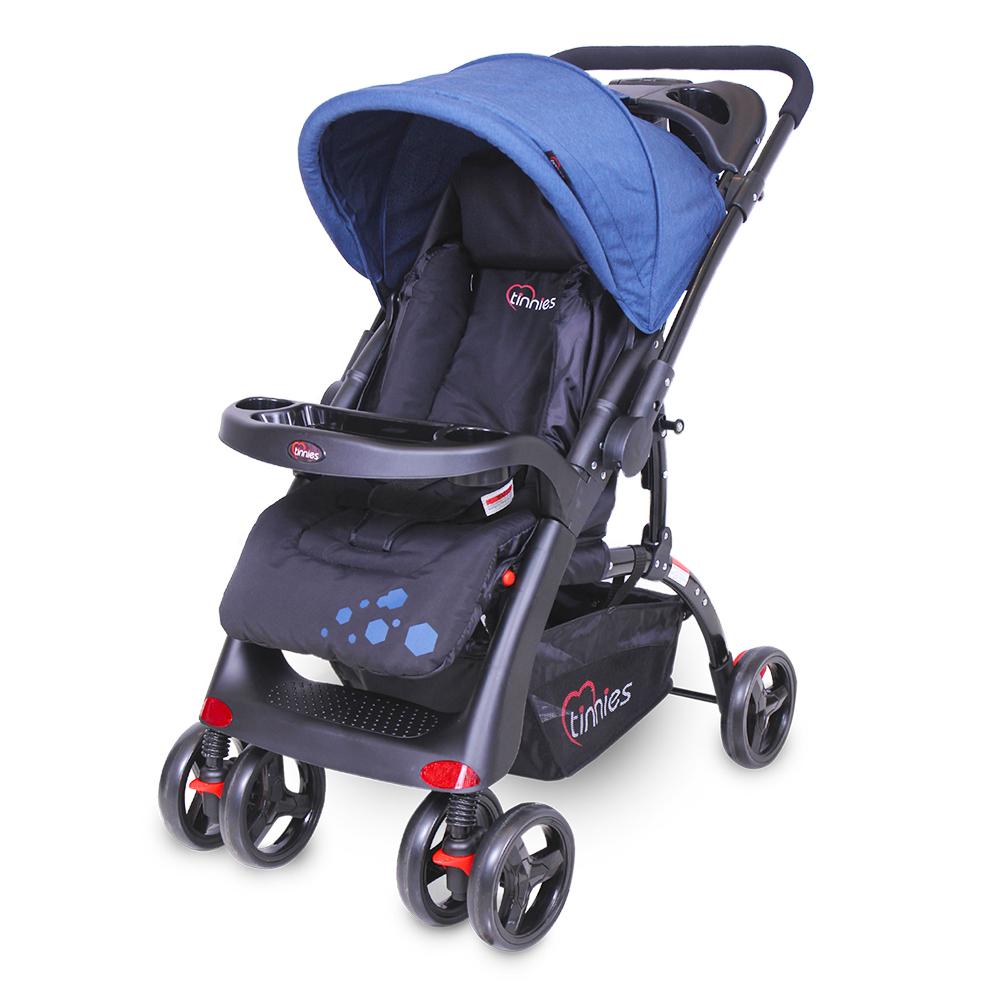 Tinnies Baby Stroller (Black) - (C-18D)