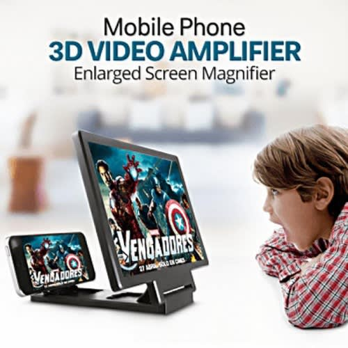 F1 3D Magnifier Smartphone Phone Stand Holder Screen Enlarged Movie Music