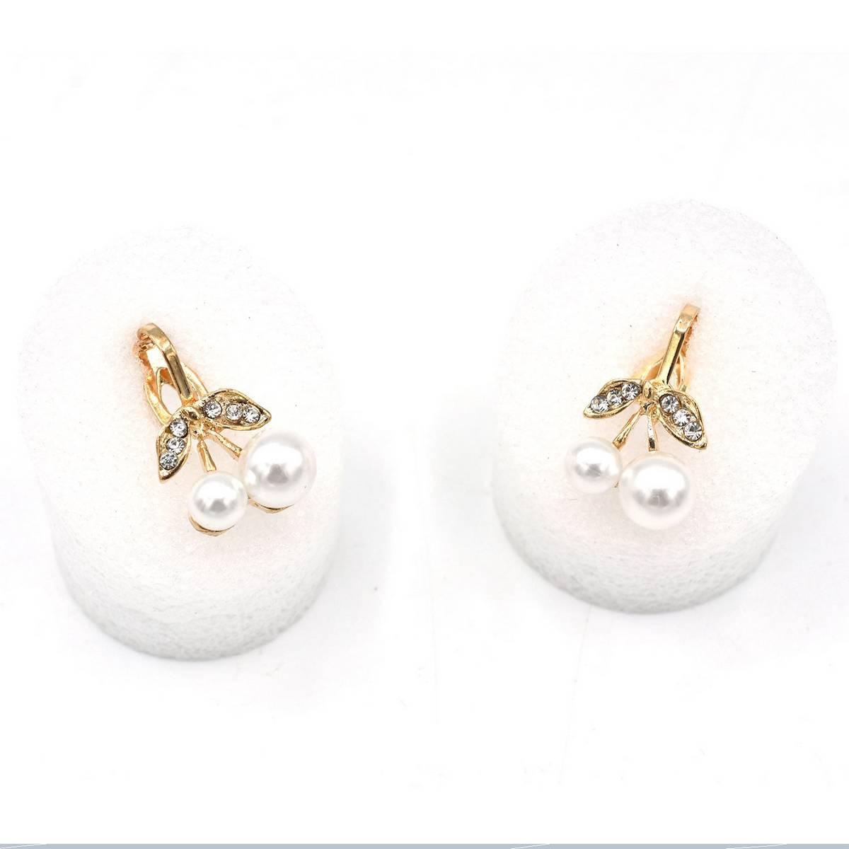 Bali Jelry Trendy Silver Women Earring 925 Jewelry Accessories Freshwater Pearl Zircon Gemstone Drop Earrings Wedding Engagement