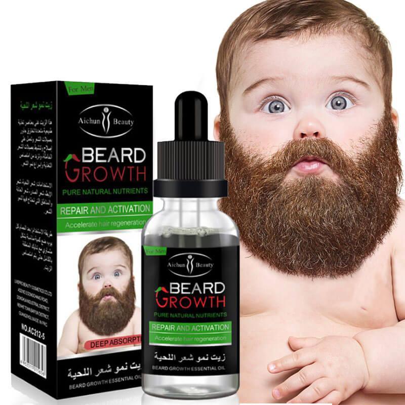 Beard Growth Oil Men Moustache Enhancer Beard Shaping Serum Liquid 40ml