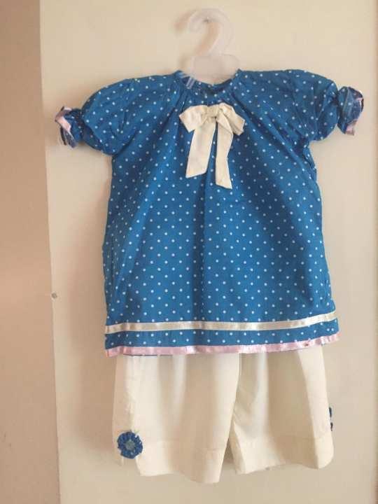 Blue clothing set