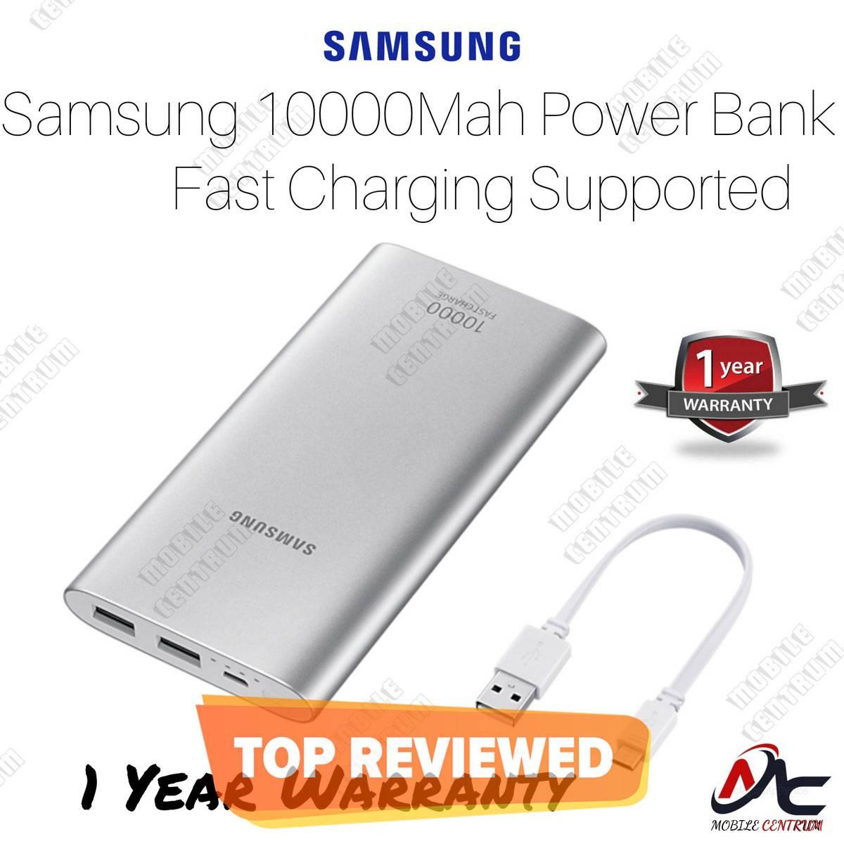 Original Samsung Power Bank Dual USB Port Battery Pack 10000MAH