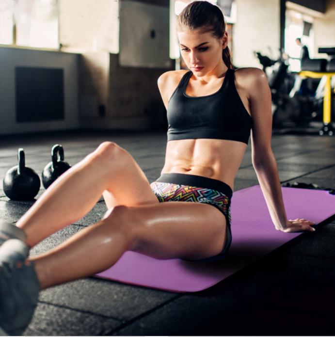 Yoga Mats Exercise Matt, Gym floor Mate for women- Yoga Matt Thick 4mm, 6mm