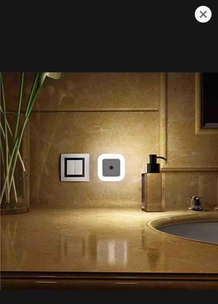 Novelty Automatic Sensor Night Light EU/US Plug