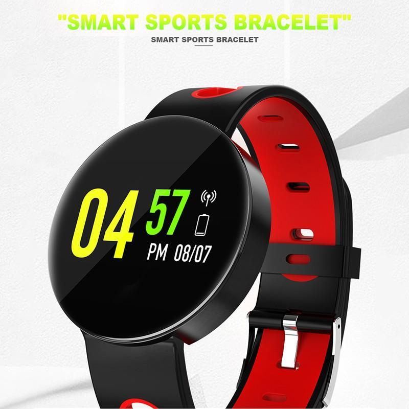 IP67 Waterproof X1 Smart Ribbon Bracelet Monitor Bluetooth Fitness Tracker  for Android iOS