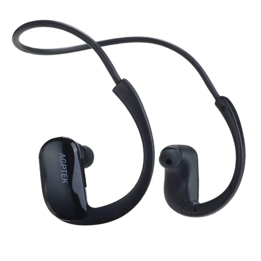 fb77b3238 AGPTEK Swimming MP3 Music Player S11 8GB IPX8 Waterproof MP3 Player for  Swimming/Showering/Running/Training etc