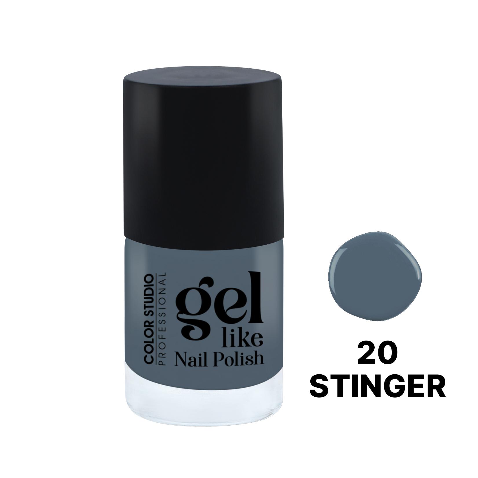 Color Studio Gel Like Nail Polish - 20 Stinger