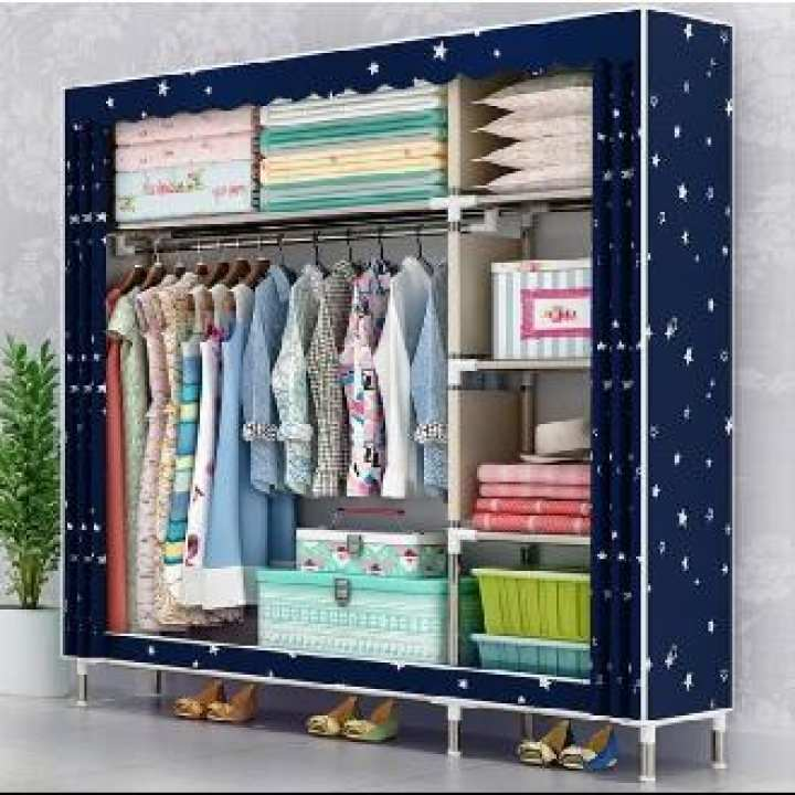 Cupboard for storage clothes wardrobe folding portable furniture ultra strong durable new and latest models